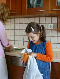 Kids Child Children Clean Up Cleaning Up